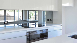 mirror splashbacks Sandown Village